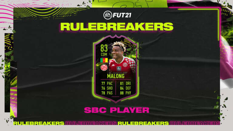 Should You Do The Kunde Malong Rulebreakers SBC In FIFA 21? A Unique (But Expensive) Bundesliga CDM