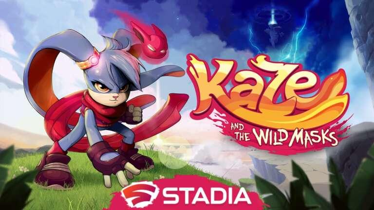Action Platformer Kaze and the Wild Masks Announced For Google Stadia