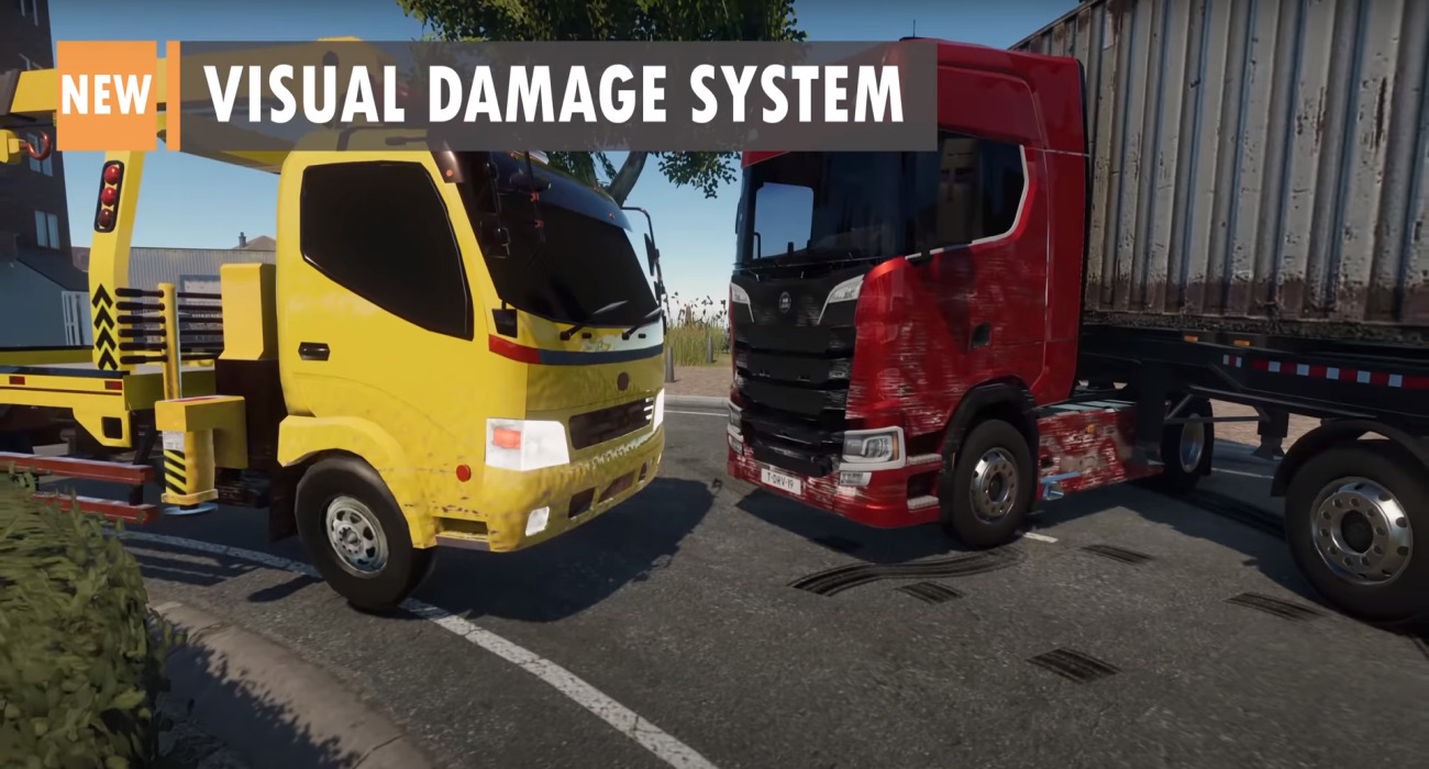 Truck Driver's Hidden Places And Damage System DLC Is Available Now