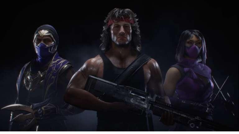 NetherRealm Studios Announces A New Kombat Pack Including Characters Like John Rambo, Rain, And More To Mortal Kombat 11