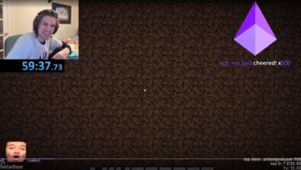 Streamer xQcOW Finishes Minecraft in Just Under A Single Hour, Creating His Personal Best Record!