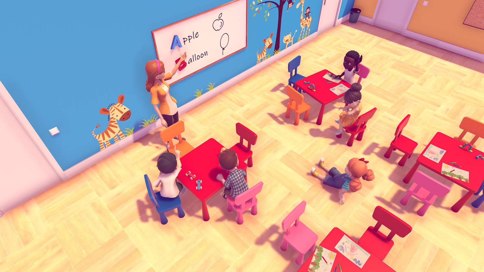 Daycare Manager Is A Strategy Sim Experience Announced For PC Fans