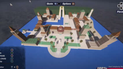 Iconic Super Mario Sunshine Location Delfino Plaza Is Recreated By A Fan In Tony Hawk's Pro Skater