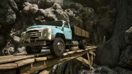 Truck Mechanic: Dangerous Paths Driving Simulator Announced For PC