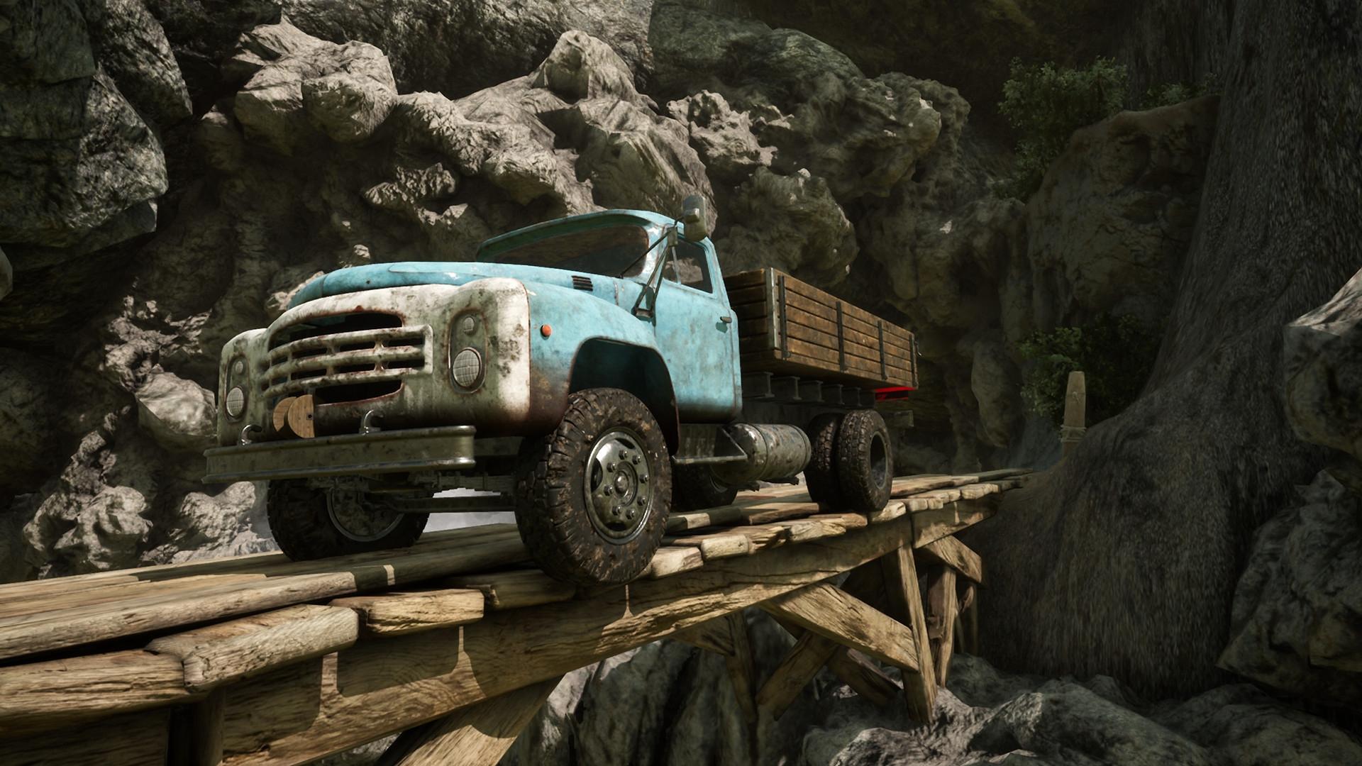 Truck Mechanic: Dangerous Paths Driving Simulator Announced For PC