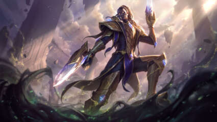 Riot Games Unveiled This Year's Victorious Skin, Lucian Will Be Getting It Following His Presence Around The World