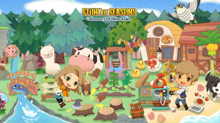 Story Of Seasons: Pioneers of Olive Town Announced For The Nintendo Switch in 2021