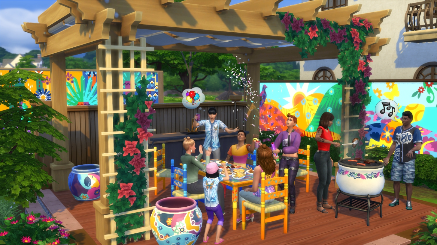 The Sims 4 PC Update Restyles Existing CAS Hairstyles And Celebrates Hispanic Heritage Month
