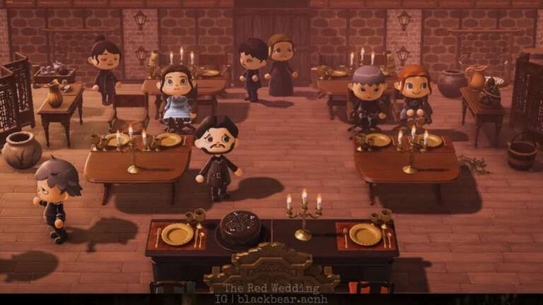 Game Of Thrones' Red Wedding Scene Recreated In Animal Crossing: New Horizons