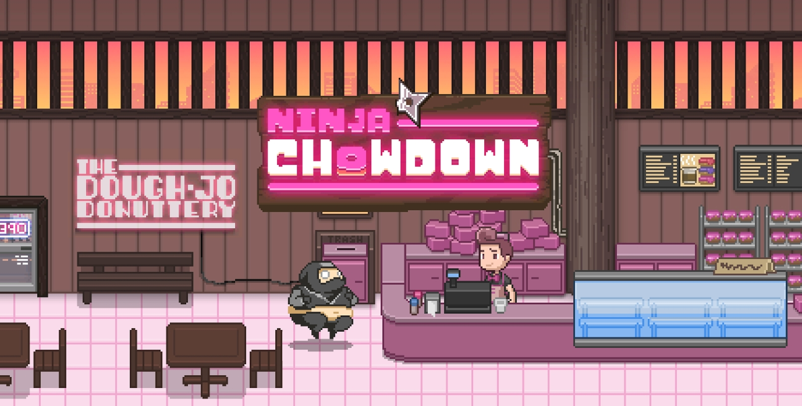 Ninja Chowdown Pixel Runner Game Headed To iOS This Fall