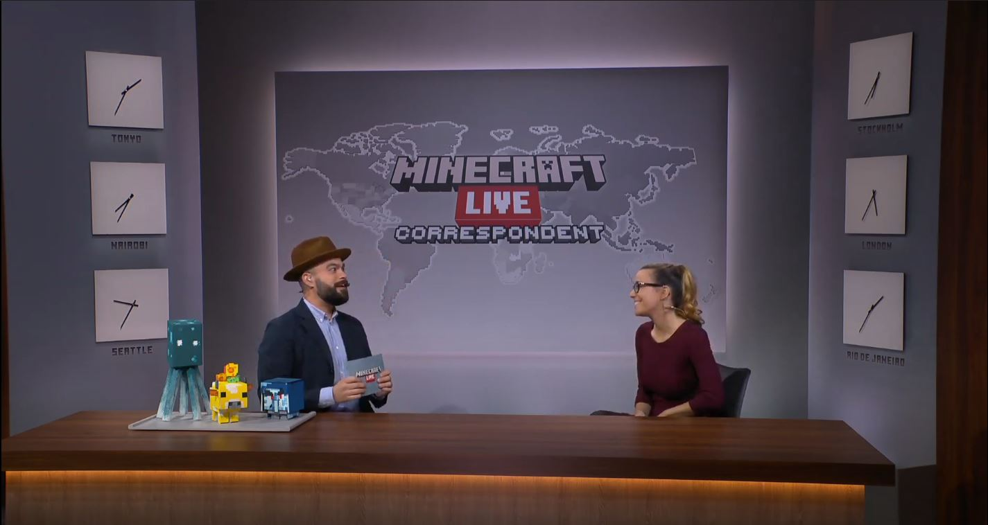 Minecraft Live: Live On the Minecraft YouTube Channel And Offers Some Interesting Information