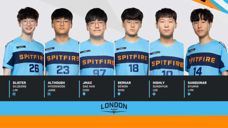 OWL - The London Spitfire Continues Its Rebuilding And Let Goes Seven Players