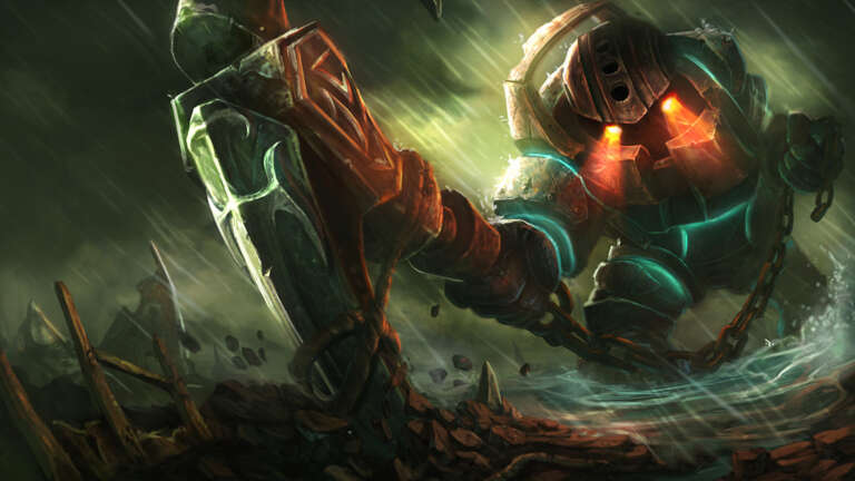 One Of Best Nautilus Runes, Masteries, Early And Core Items For Current League Of Legend Season Ten
