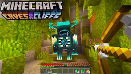 Minecraft Caves And Cliffs Update Will Add The Warden, Minecraft's First Blind Mob