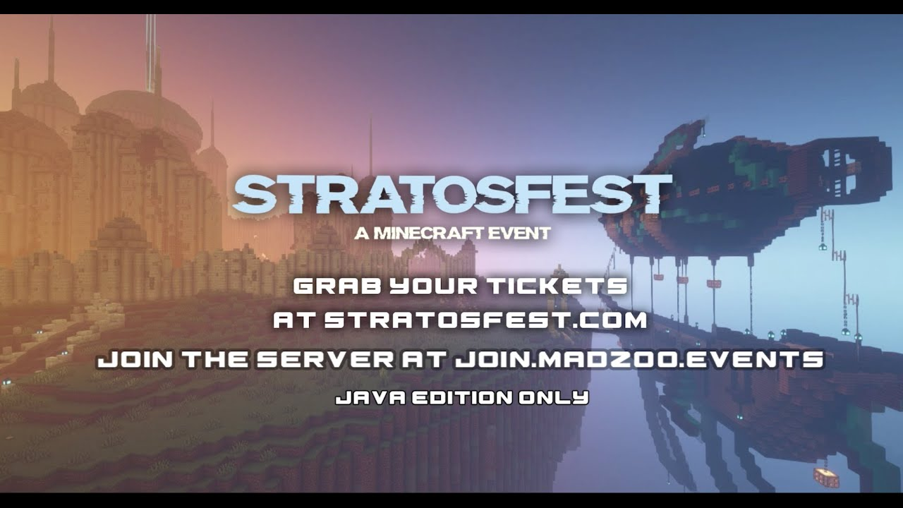 Minecraft Musical Event, Stratosfest, Offers An Impressive Array Of Artists For The Low Price of Just $12