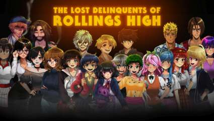 The Lost Delinquents of Rollings High Romance Horror Visual Novel Kickstarter Campaign Now Live