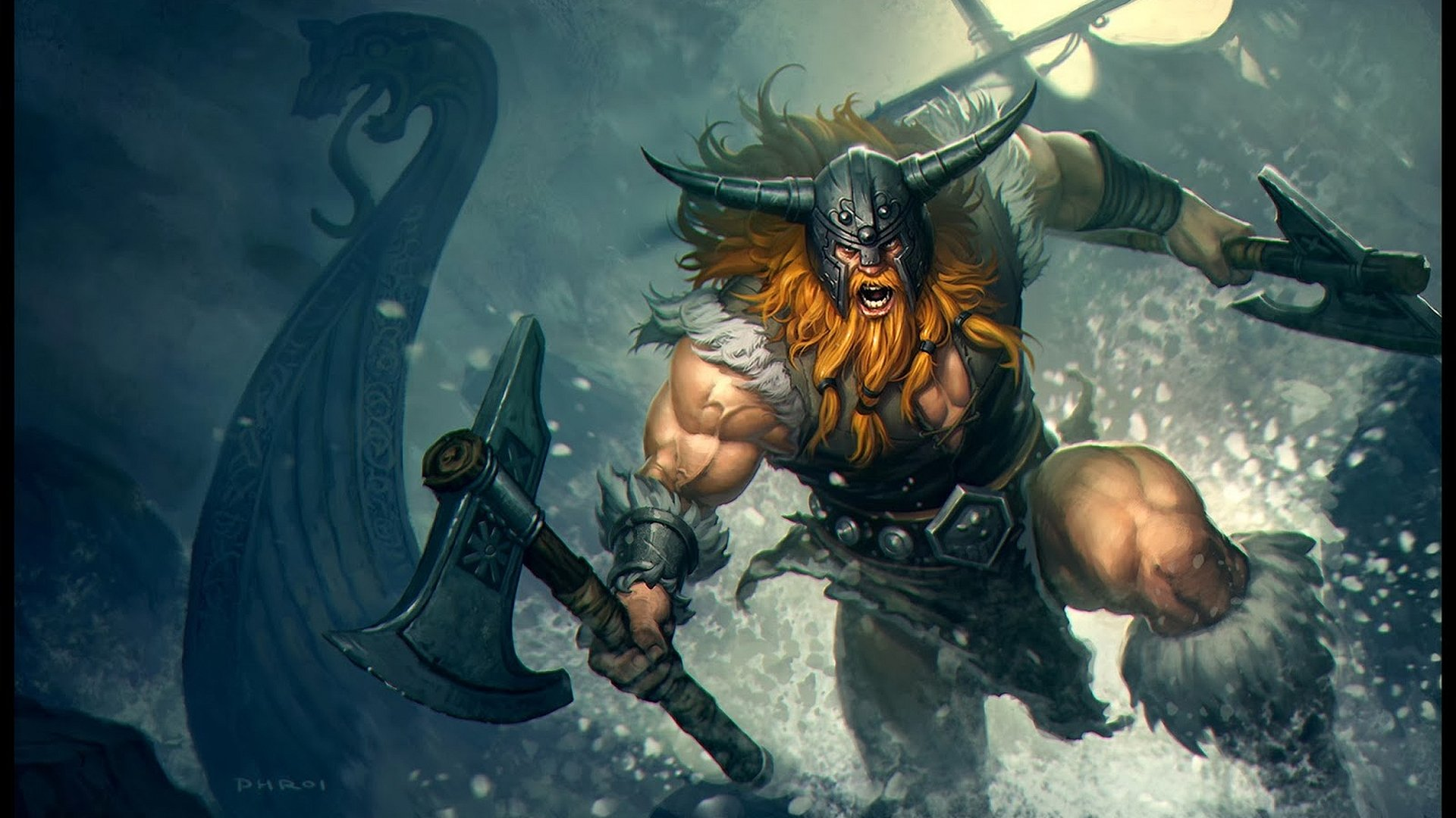 One Of Best Olaf Runes, Masteries, Early And Core Items For Current League Of Legend Season Ten