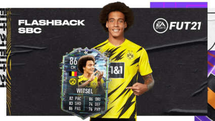 Should You Do The Axel Witsel Flashback SBC In FIFA 21? Another Flashback Witsel...