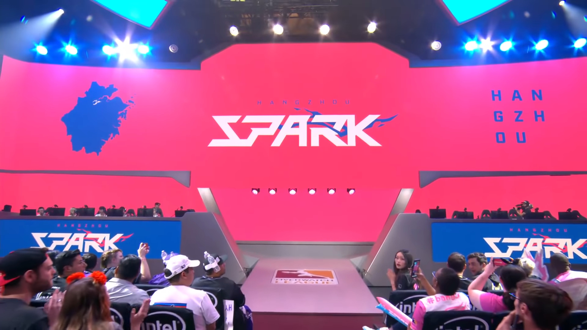 OWL – Adora, Ria, Sasin, Ado, and BeBe Bids Farewell To The Hangzhou Spark