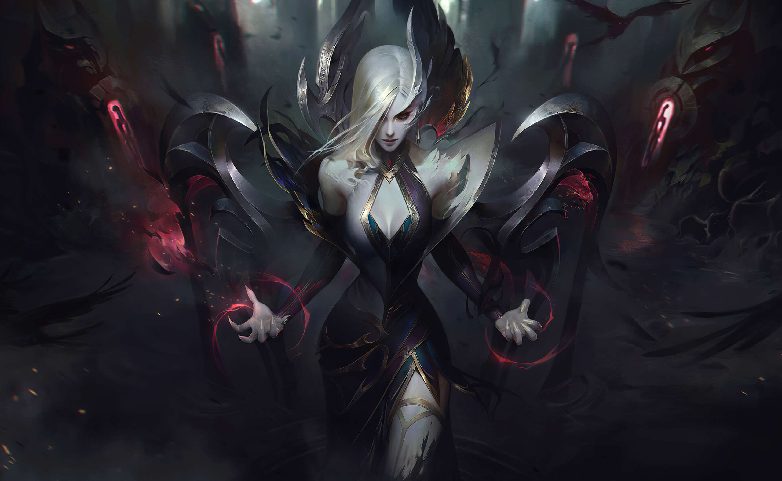 One Of Best Morgana Runes, Masteries, Early And Core Items For Current League Of Legend Season Ten