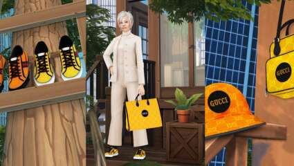 "Gucci Partners With The Sims 4 Custom Content Creators For ""Off the Grid"" Campaign"