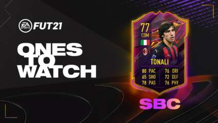 Should You Do The OTW Tonali SBC In FIFA 21? A Cheap Serie A CDM With Good Stats And Potential In-forms