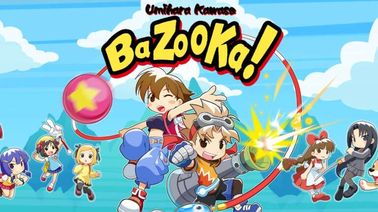 Inin Games Releases Umihara Kawase BaZooKa! Upcoming Console Launch Trailer