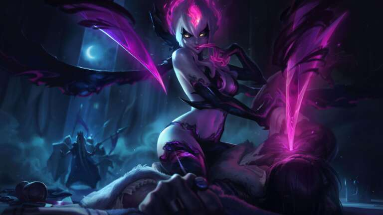 League Of Legends Evelynn's K/DA All Out Skin Won't Have Long Hair As Advertised Due To Rig Limitations