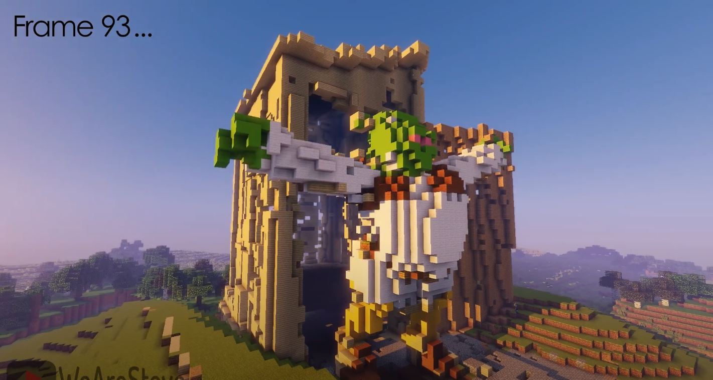 Minecraft YouTuber, WeAreSteve, Shows How He Makes The Stop Motion Animations In Minecraft