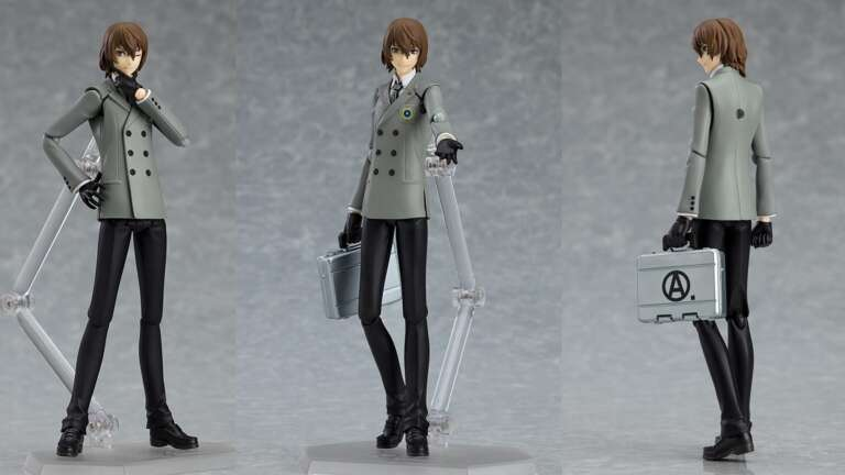 Good Smile Company's Figma Goro Akechi From Persona 5 Available For Preorder