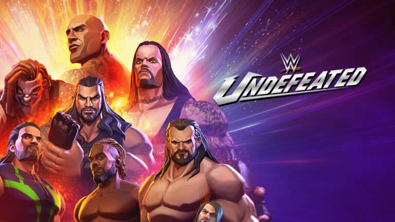 nWay Announces WWE Undefeated Fighting Game For Mobile With Pre-Registrations Available Now