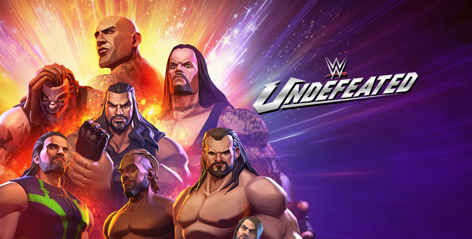 nWay Announces WWE Undefeated Fighting Game For Mobile With Pre-Registrations Available Now | Happy Gamer