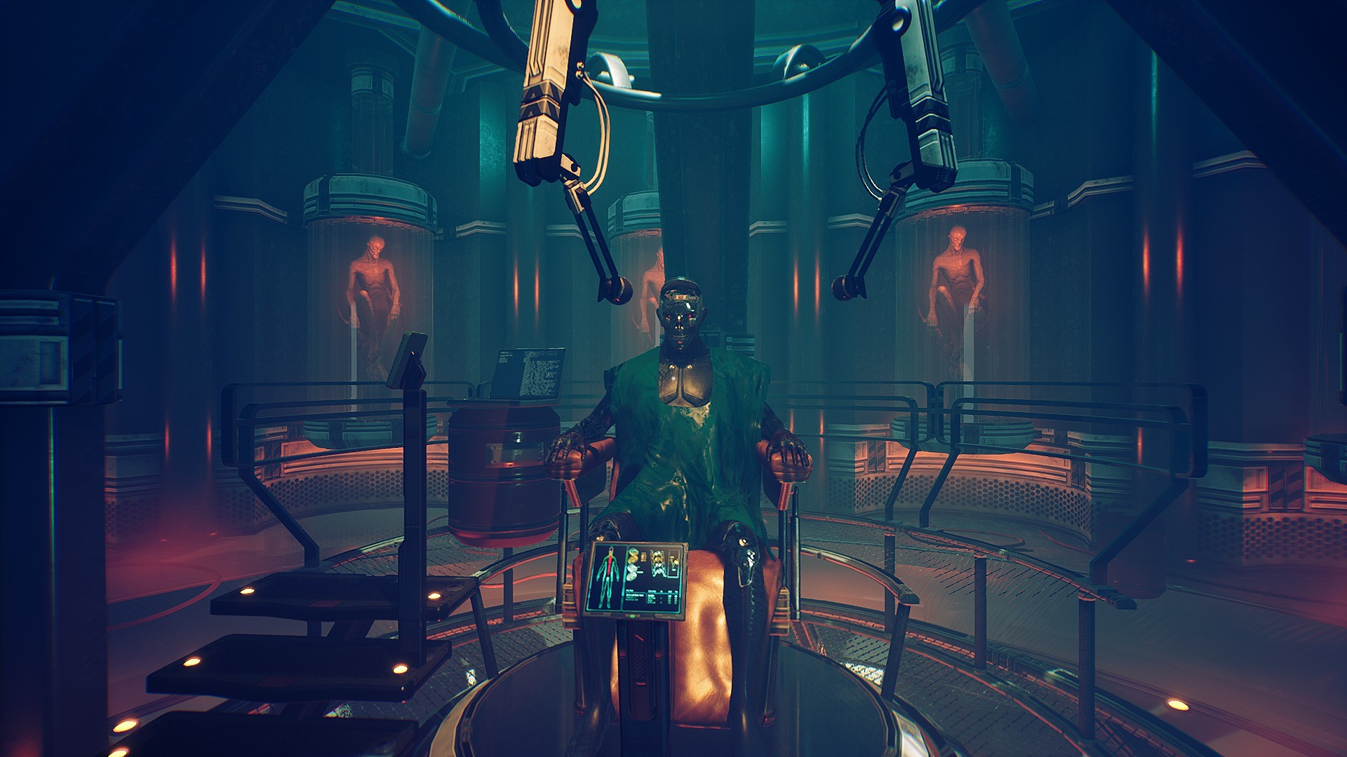 TRANSIENT Is A New Cyberpunk Thriller In A Lovecraftian Universe