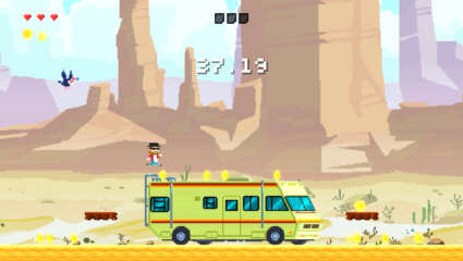 Landflix Odyssey Is A Unique Action Platforming Adventure Set To Release On November 13th