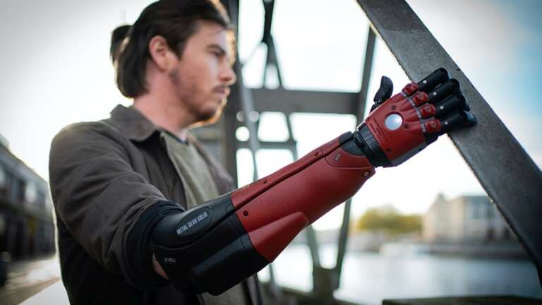 """Konami and Open Bionics Have Announced the Metal Gear Solid """"Hero Arm"""""""