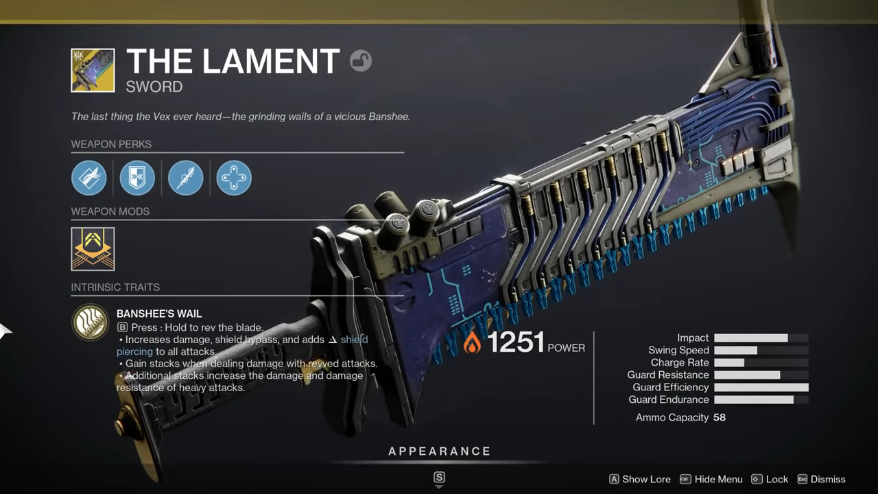 Destiny 2: Lament Exotic Quest Available From Banshee – How To Complete Exotic Quest