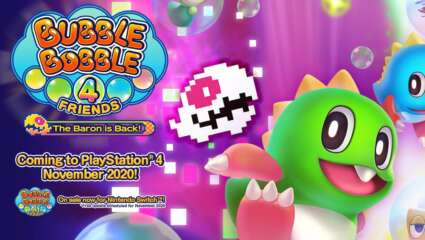 Bubble Bobble 4 Friends: The Baron is Back! Launch Announced For November 17