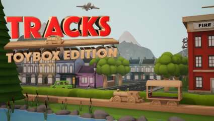 Toy Train Set Builder Tracks – Toybox Edition Nintendo Switch Launches On November 24