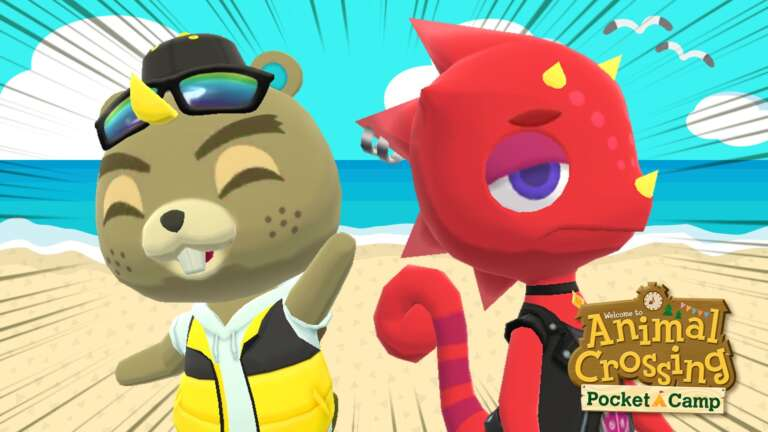 Animal Crossing: Pocket Camp Adds CJ And Flick From New Horizons