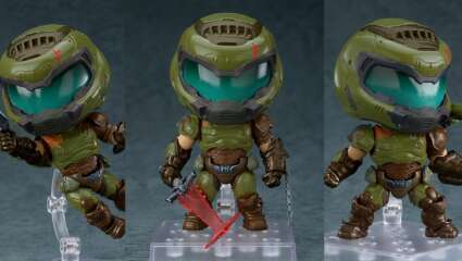 Good Smile Company Announces Adorably Tiny Version of Nendoroid Doom Slayer