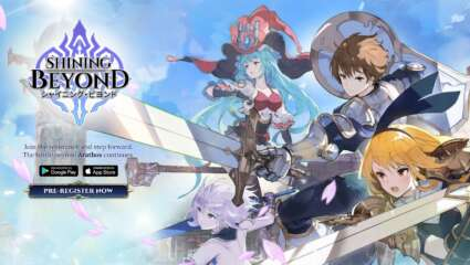 XII Braves' Mobile RPG Shining Beyond Launches On November 26