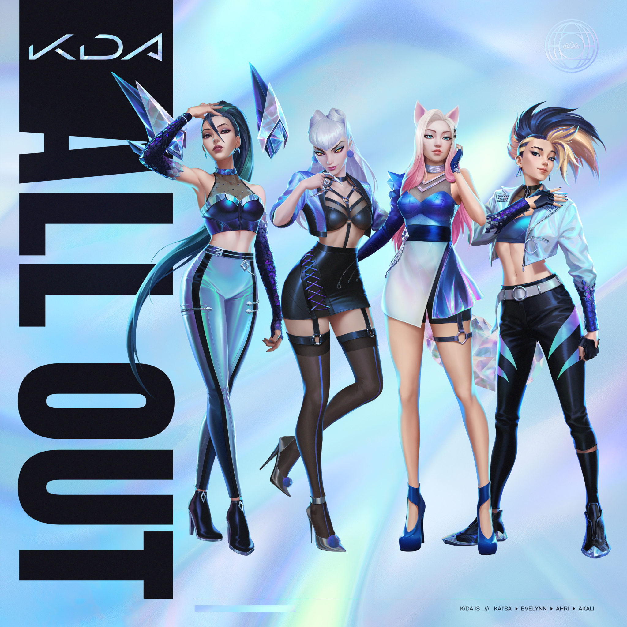 Riot Games' League Of Legends K/DA Music Group Shared Sneak Peak For The Song MORE Recently