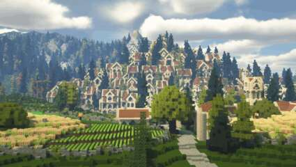 Dedicated Minecraft Players Have Been Recreating Middle-Earth For Almost Ten Years