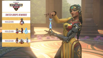 Symmetra Restoration Challenge Event Now Live - New Event Offers Cosmetic Rewards For Gameplay And Watching Streams