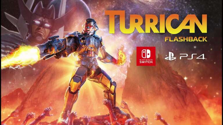 Turrican Flashback Is Planning A Digital And Physical Release For PS4 And Nintendo Switch