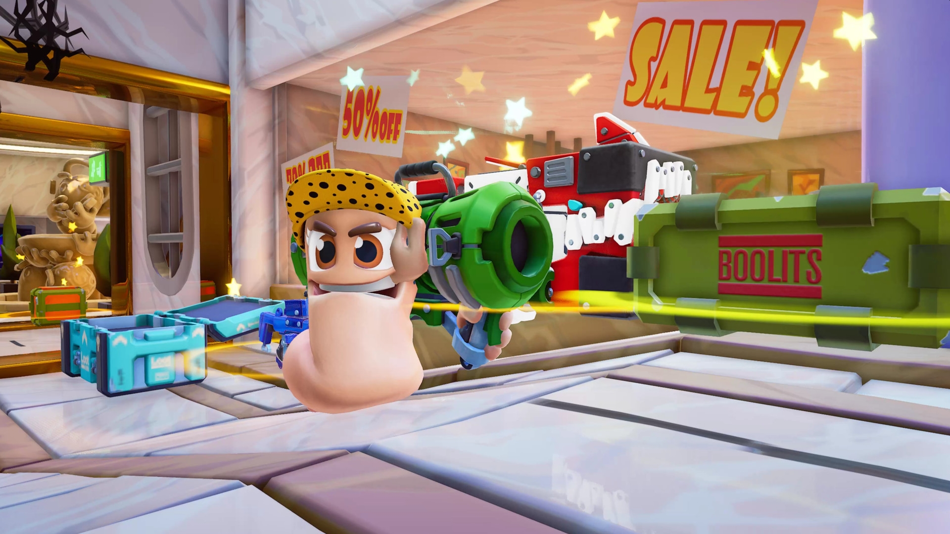 Team17's Worms Rumble Begins Battle On PC, PS4, And PS5 This December