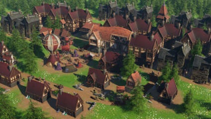 What Is Distant Kingdoms? Indie Medieval Fantasy City Builder Blends Resource Management With Dungeons And Dragons
