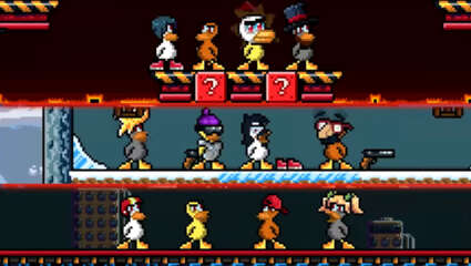 The Bizarre Title Duck Game Receives It's 1.5 Update Bring Eight Player Mayhem