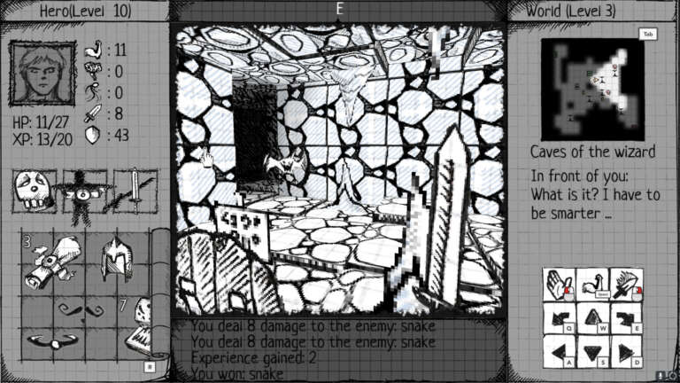 Drawngeon: Dungeons of Ink and Paper Is A Strange Hand Drawn Adventure Landing On Xbox One And Xbox Series X