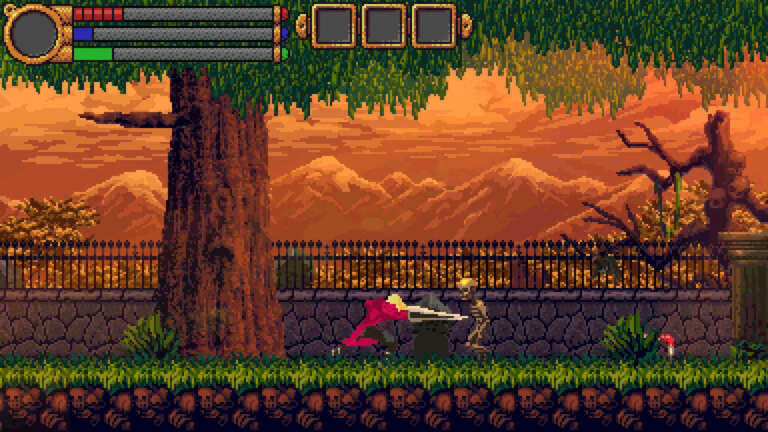 The Skylia Prophecy Is A Strange Metroidvania Title Now Available On Steam